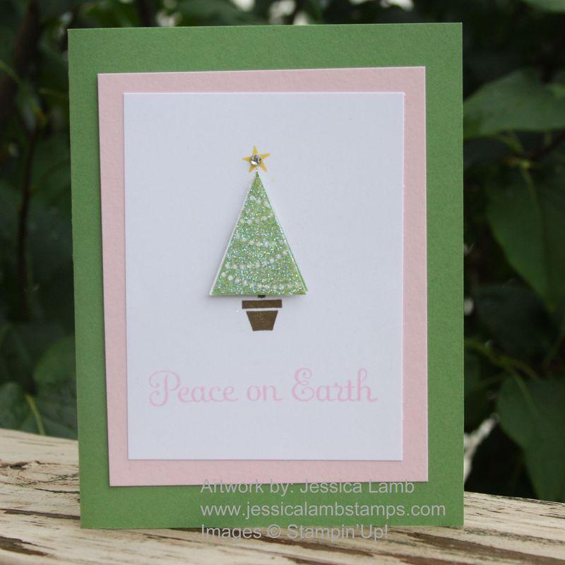Pennant christmas card
