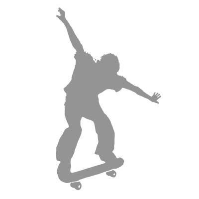 Extreme skateboard image