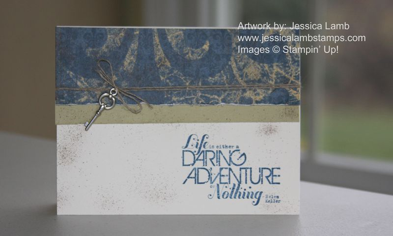 Daring adventure card
