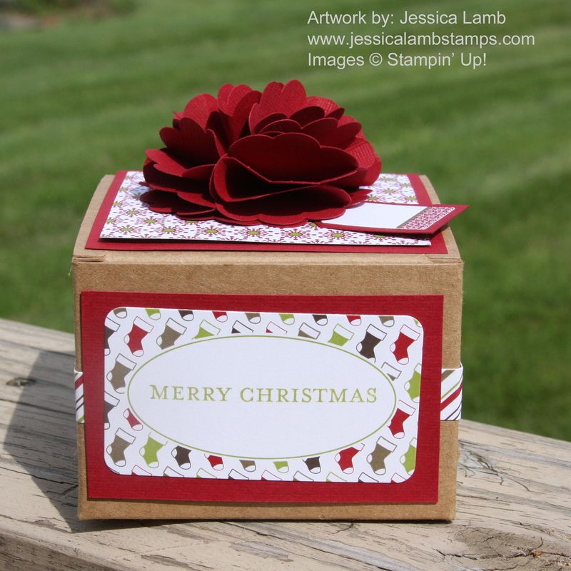 Christmas lane kraft box