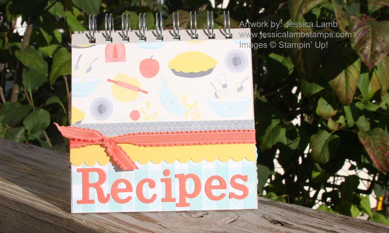 Recipe book class sample