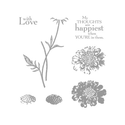 Field flowers stamp set images