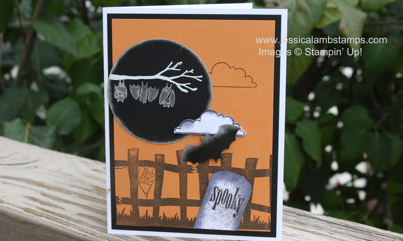 Out on a limb Halloween card