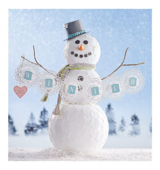Winter snowman project
