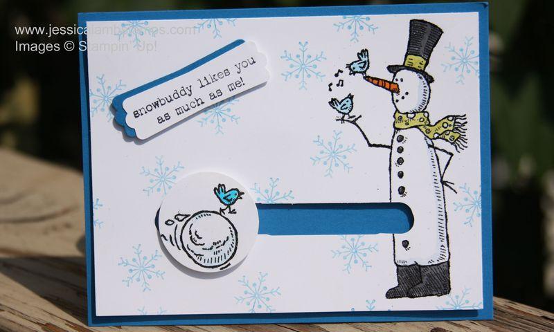 Snow much fun snowball card