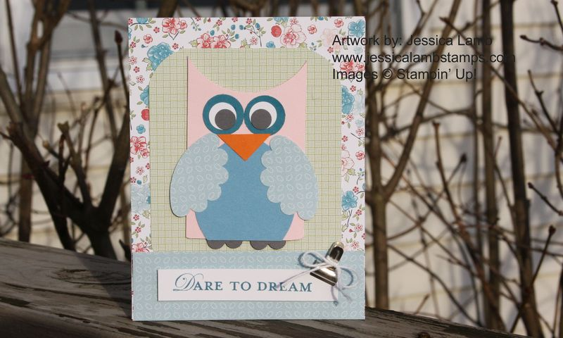 Owl twitterpated card