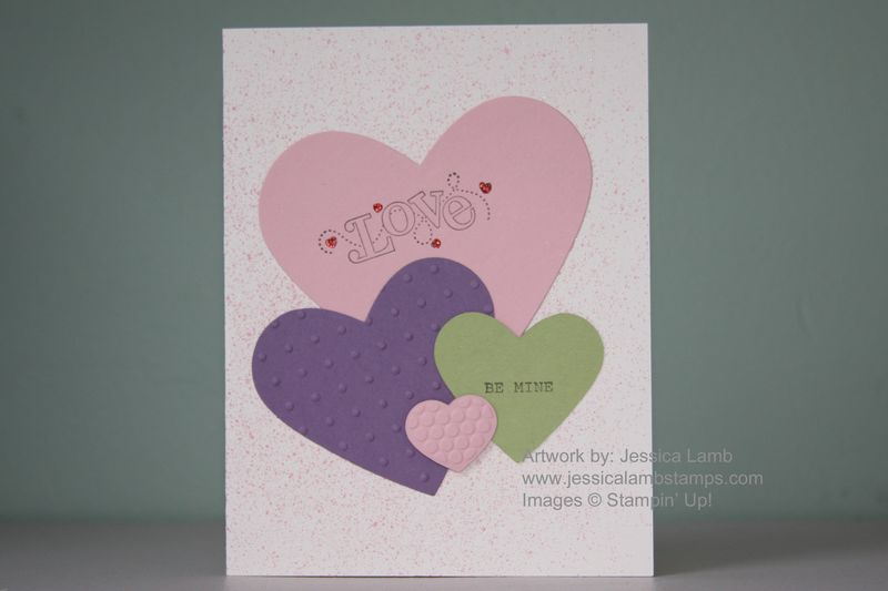Outlined occasions valentine card