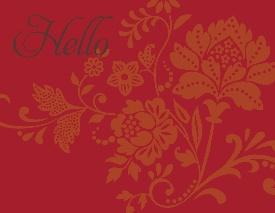 My Digital Studio hello notecard