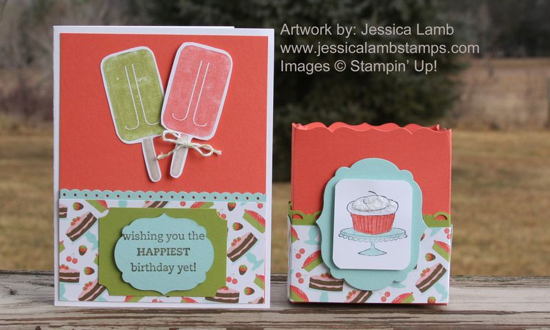 Sweet Shop birthday card and treat bag