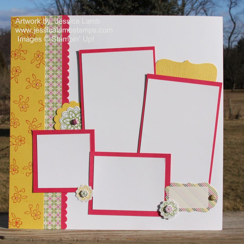 Spring fever 12x12 layout 1