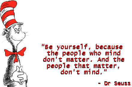 Drseuss be yourself quote