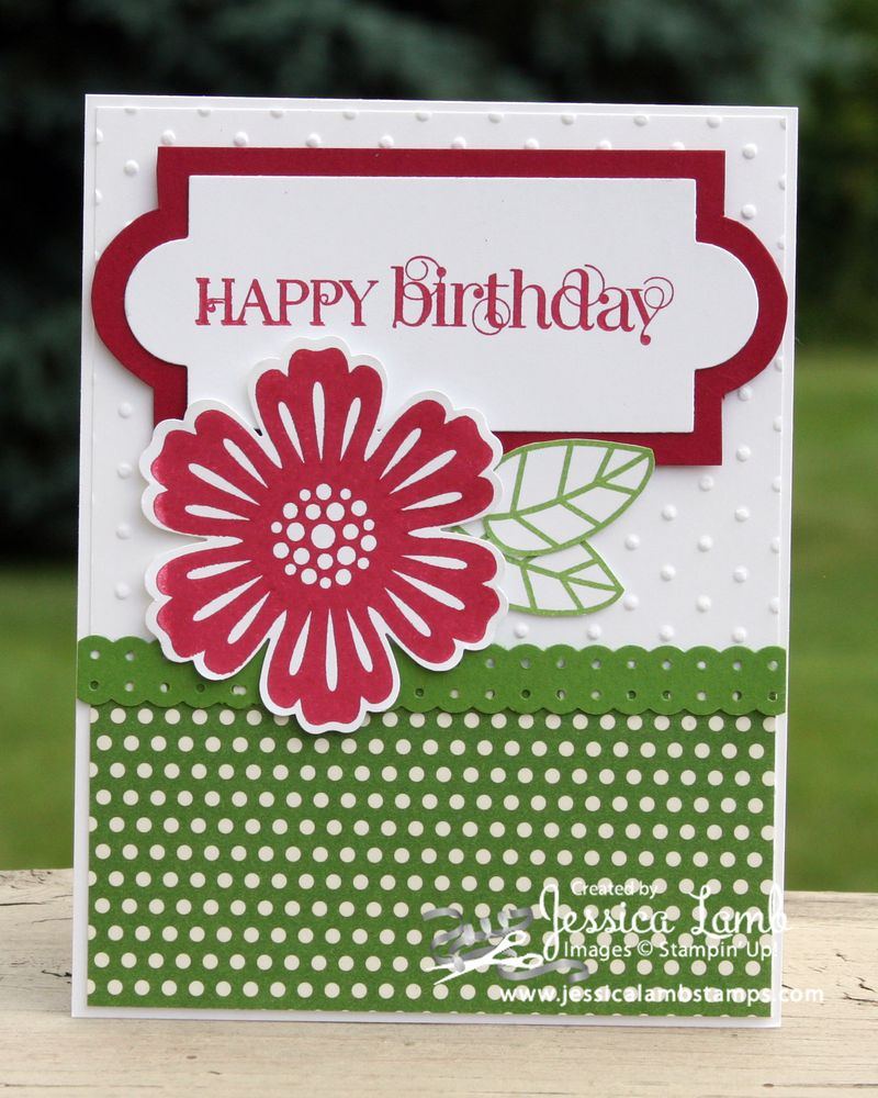 Curly Cute birthday card
