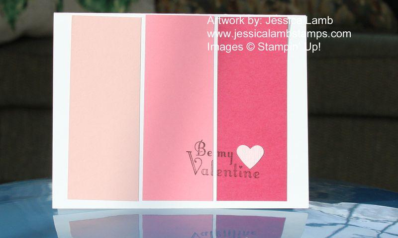 Valentine color spectrum card copy