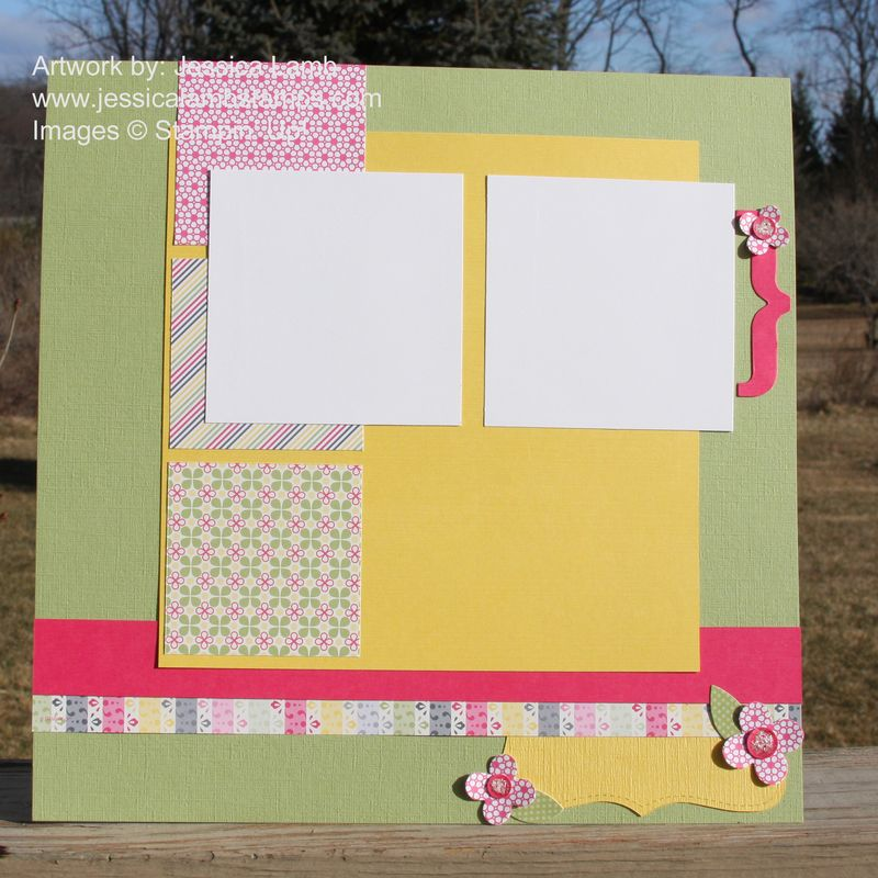 Spring fever 12x12 layout 3