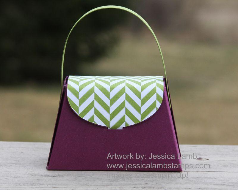Rich razzleberry petite purse