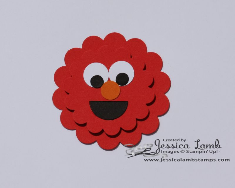 Punch art elmo
