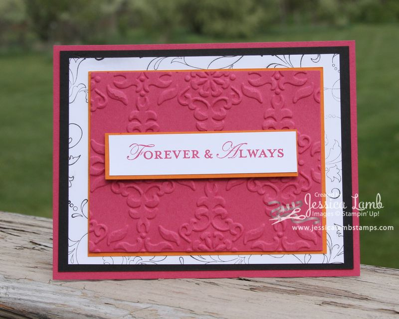 Forvever and always engagement party invitation