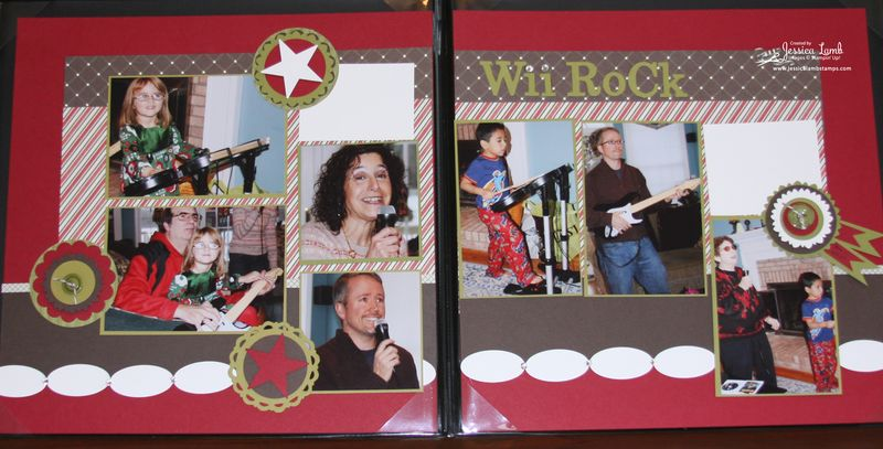 Letters to Santa 2 page scrapbook layout