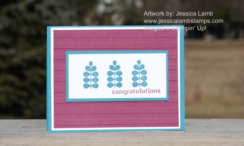 Funky Four congratulations card