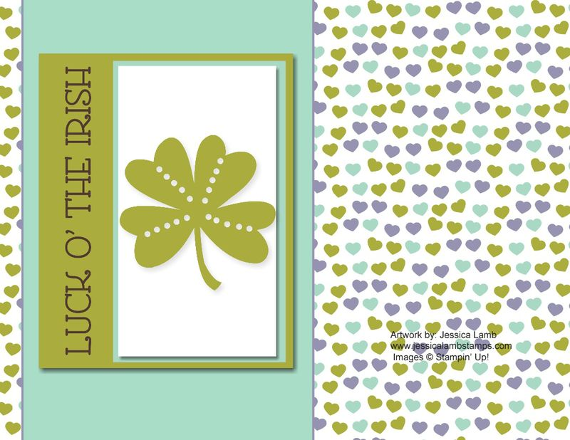 St patrick day digital card