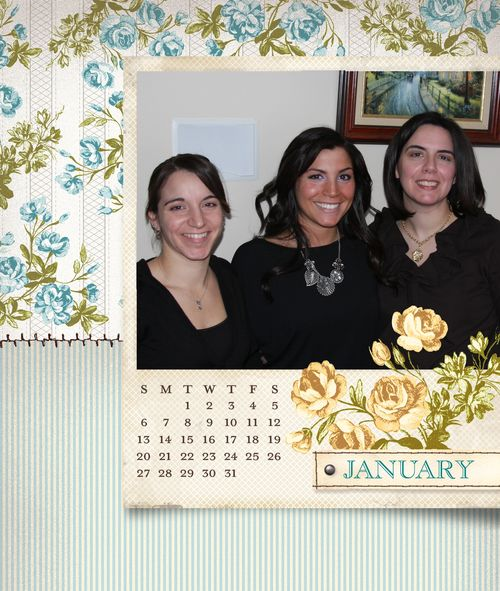 Tea for two calendar january