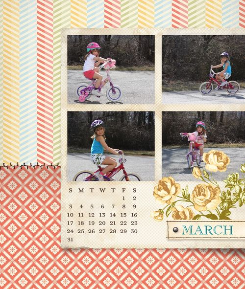 Tea for two calendar march