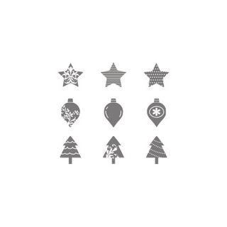 Merry minis stamp set