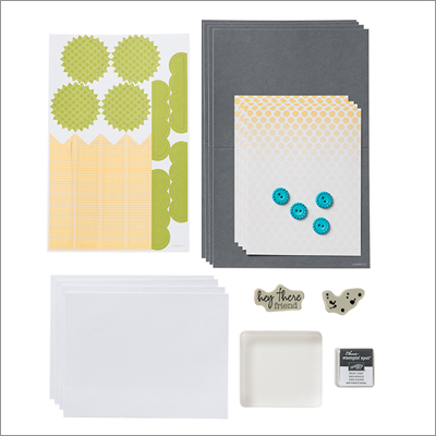Paper pumpkin sample kit