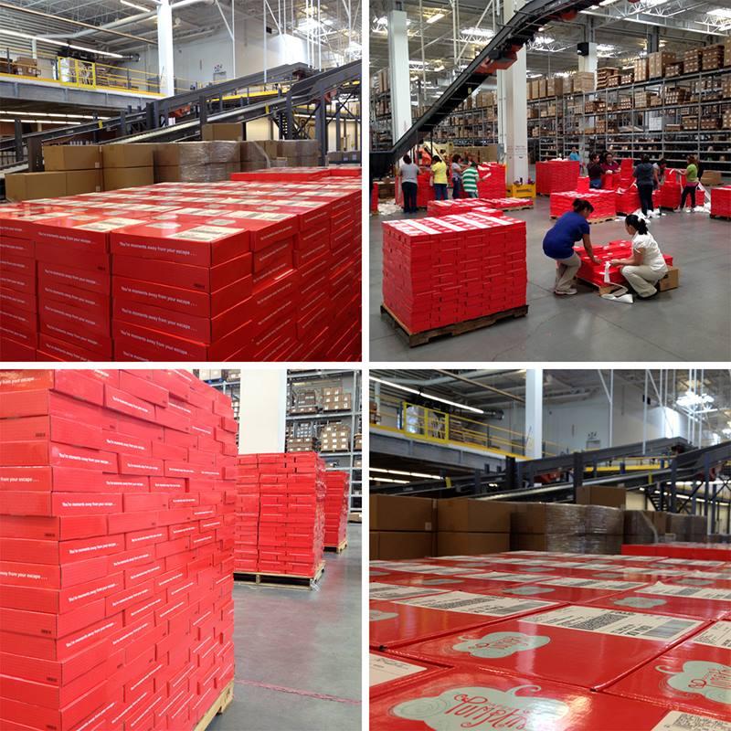 Paper pumpkin shipping